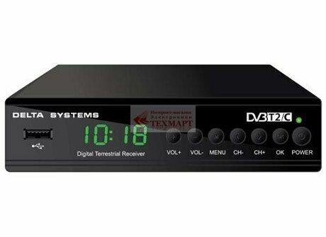 Приставка DVB-T2 Delta Systems DS-950HD+