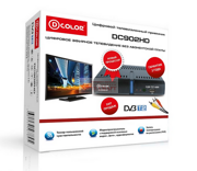 ТВ ресивер D-COLOR DC902HD